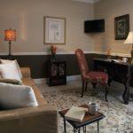 River Suite 104 - Living Room with Queen Sleeper Sofa