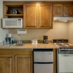 River Suites Room 105 Kitchen