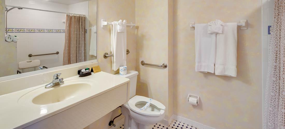 Room 201 bath