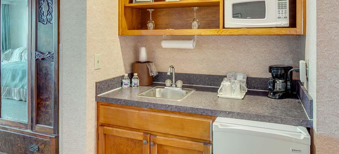 Room 201 Kitchenette