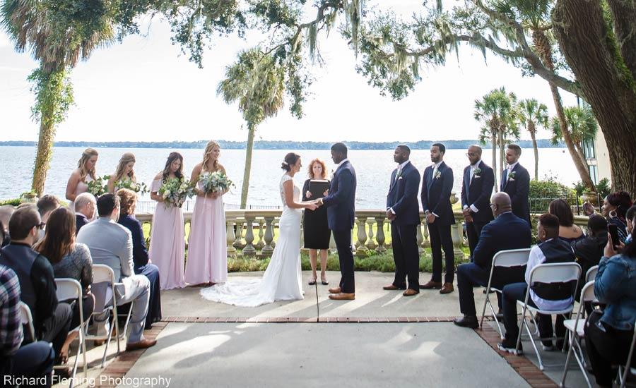 Club Continental wedding