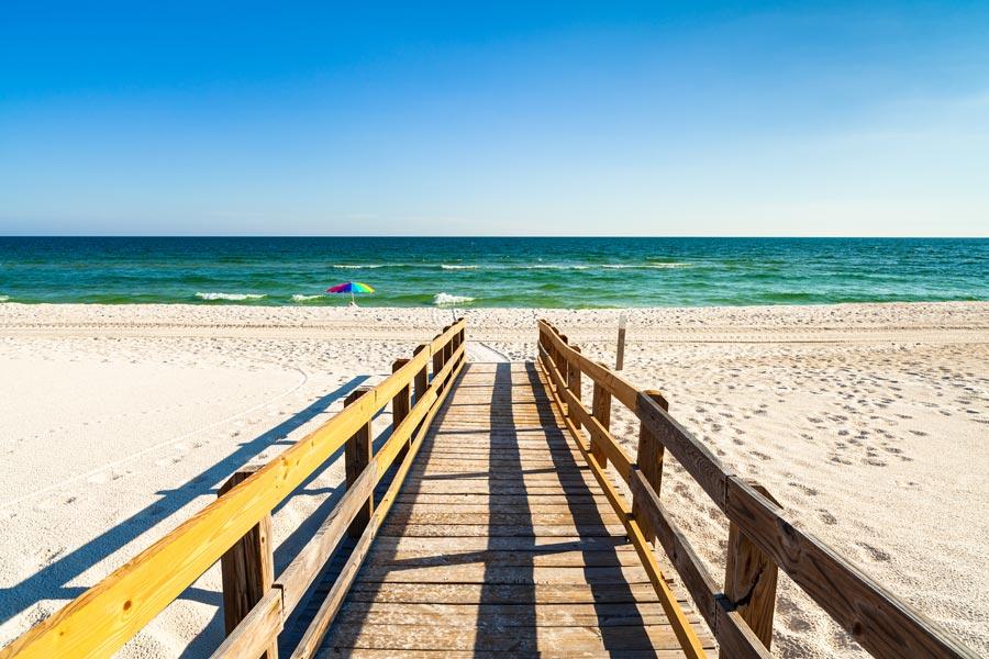 Crescent Beach boardwalk