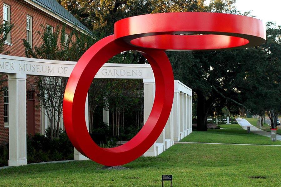 Sculpture at Cummer Museum of Art and Gardens