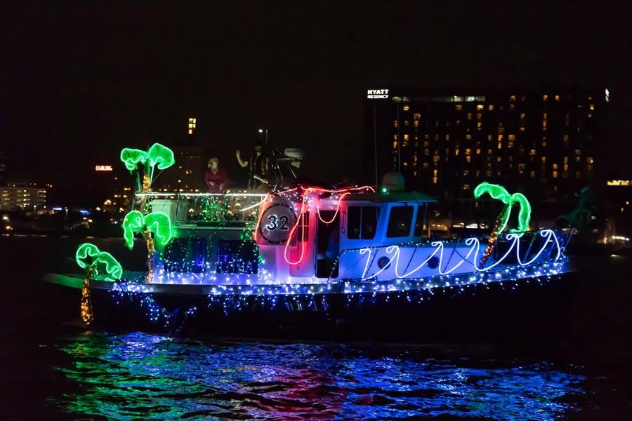 Jacksonville Light Boat Parade 2020