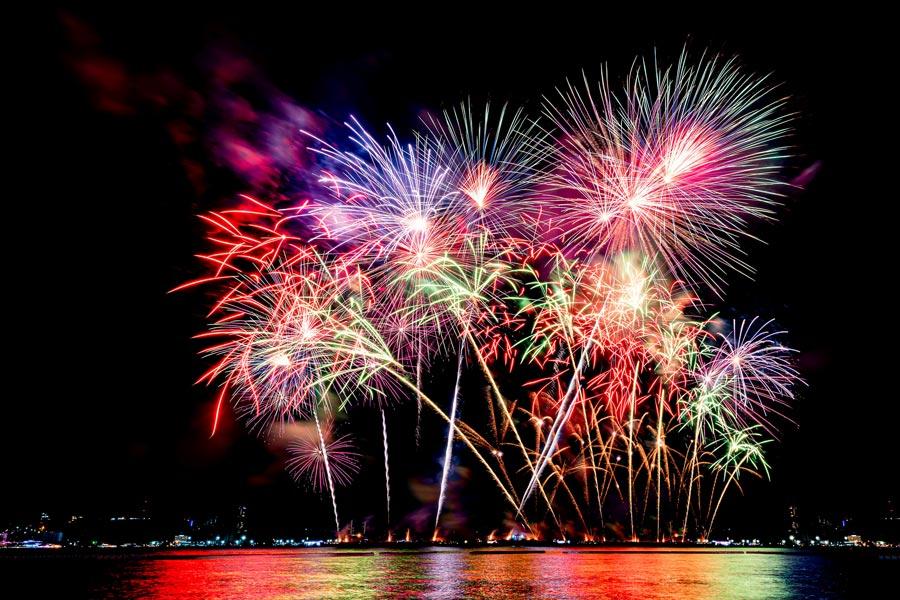 Jacksonville FL New Year's Eve Fireworks