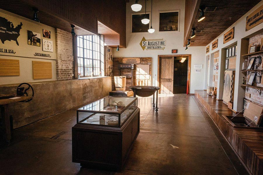 St Augustine Distillery museum